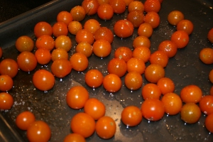 Roasted Sungold Tomatoes