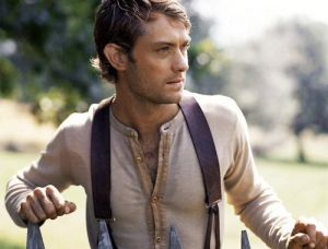 I couldn't find a good photo of the goat lady from Cold Mountain, so here's one of Jude Law instead. You're welcome.